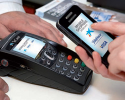 VISA's Mobile payments test in Sitges, Spain